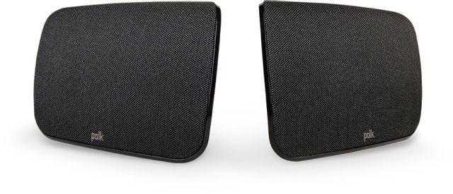 Polk Audio® Black SR1 Wireless Rear Surround Speakers-AM8419