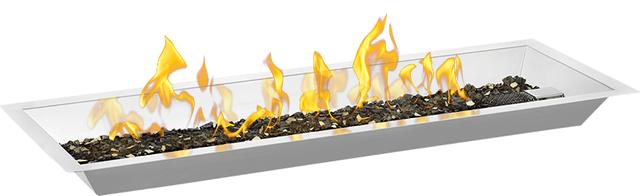 Ensemble de brûleurs carrés Napoleon Patioflame de 33,25 po - Acier inoxydable-GPFR60