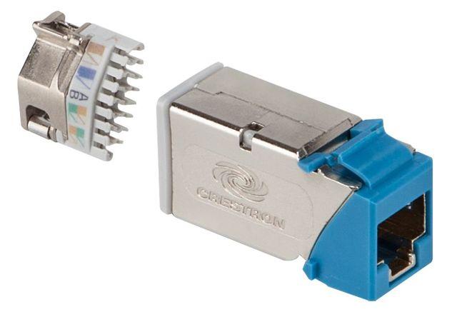 Crestron® DigitalMedia™ Ultra Keystone RJ45 Jack-50 Pack-DM-CONN-ULTRA-RECP-50