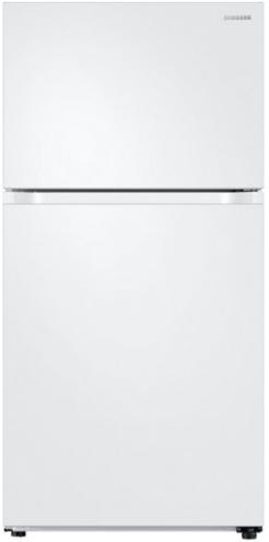 Samsung 21 Cu. Ft. Top Freezer Refrigerator-White-RT21M6213WW