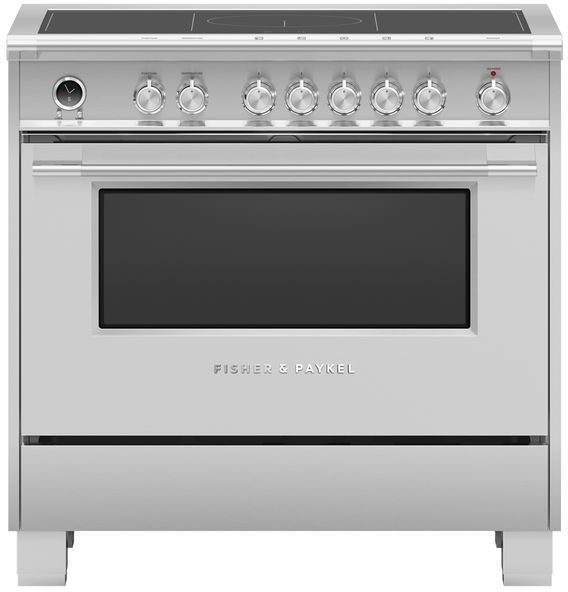 Cuisinière électrique encastrée Fisher Paykel® de 4,9 pi³ de 36 po - Acier inoxydable-OR36SCI6X1