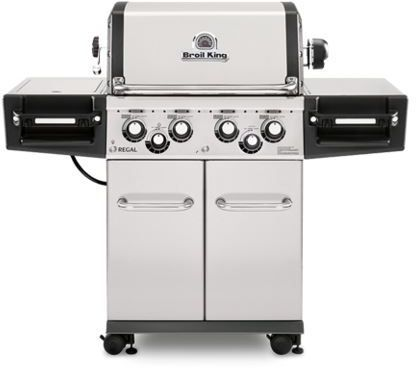 """Broil King® Regal™ S 490 PRO Series 56.3"""" Stainless Steel Freestanding Grill-956347"""
