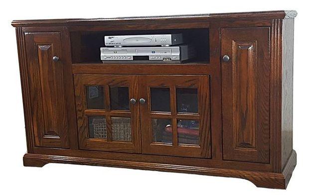 "American Heartland Oak 32"" Curve TV Stand-98852"