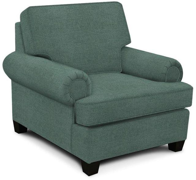 England Furniture Co. Edison Percy Cornflower Chair-8T04-7951
