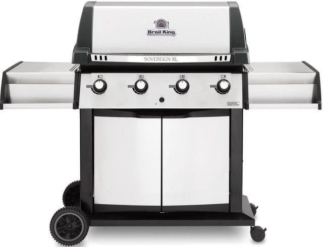 """Broil King® Sovereign™ XLS 20 65"""" Stainless Steel Freestanding Grill-988817"""