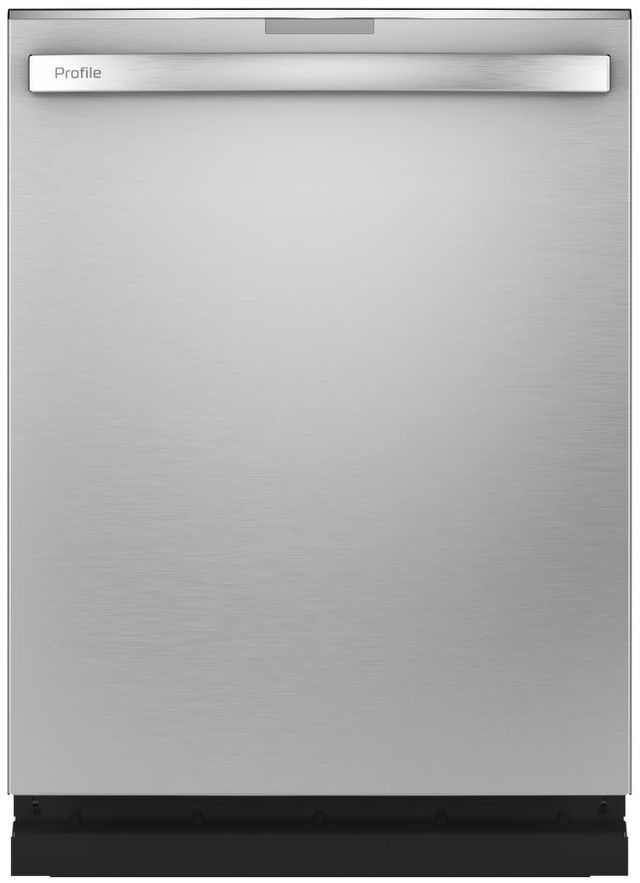 """GE Profile™ 24"""" Stainless Steel Built In Dishwasher-PDT775SYNFS"""