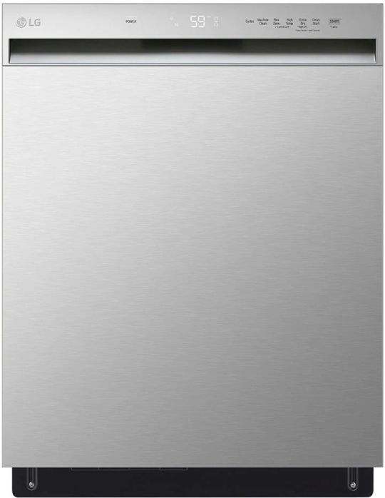 """LG 24"""" Stainless Steel Built In Dishwasher -LDFN3432T"""