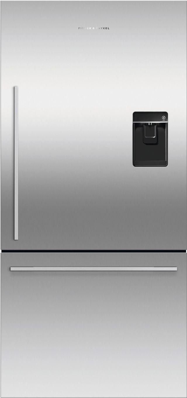Réfrigérateur à congélateur inférieur à profondeur de comptoir de 32 po Fisher Paykel® de 17,1 pi³ - Acier inoxydable-RF170WDRUX5 N