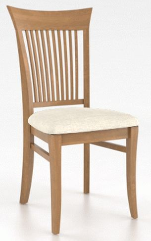 Fauteuil de salle à manger Core en tissu beige Canadel®-CHA00270TW01MNA