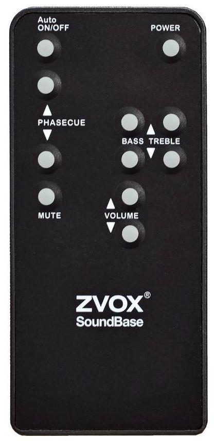 ZVOX® 4A Remote Control-REMOTE 4A