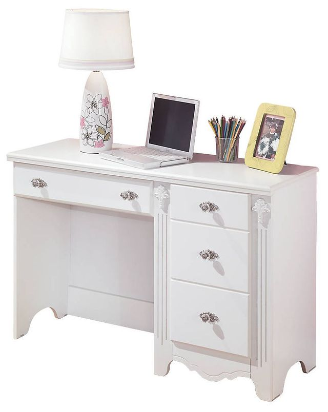 Signature Design by Ashley® Exquisite White Youth Bedroom Desk-B188-22