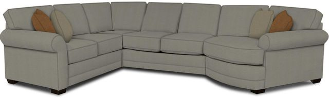 England Furniture Co. Brantley 4 Piece Culpepper Cement/Alvaro Mineral/Oliver Seapspray Sectional-5630-28-22-43-95+8612+8651+8601