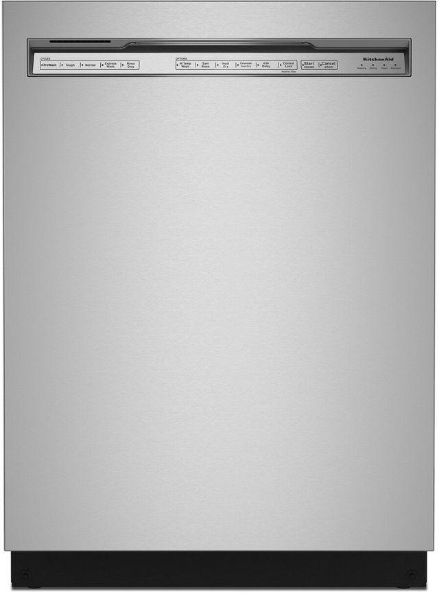 "KitchenAid® 24"" Stainless Steel with Printshield Built In Dishwasher-KDFE204KPS"