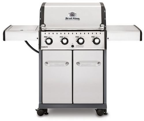 """Broil King® Baron 420 S 57"""" Stainless Steel Freestanding Gas Grill-922557"""