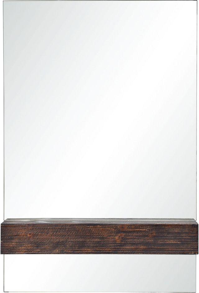 Avec étagère Kali, marron foncé, Renwil®-MT2193
