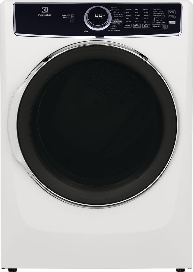 Electrolux 8.0 Cu. Ft. White Electric Dryer-ELFE7637AW