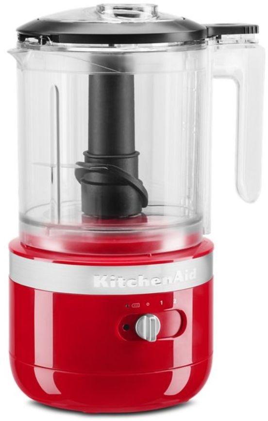 KitchenAid® 5 Cup Passion Red Cordless Food Processor-KFCB519PA