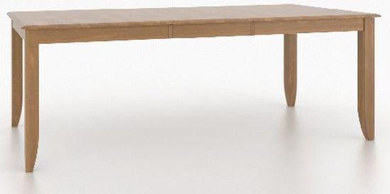 Table rectangulaire rectangulaire Core Canadel®-TRE038680101MEEB1