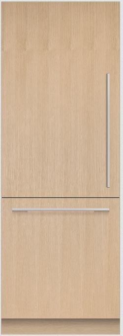 Réfrigérateur à congélateur inférieur de 30 po Fisher Paykel® de 15,9 pi³ - Solide intégré-RS3084WLUK1