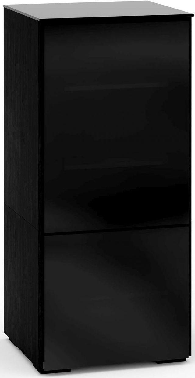 Salamander Designs® Oslo 517 RM Pro Audio Rack-Black Glass-C/OS517RM/BG