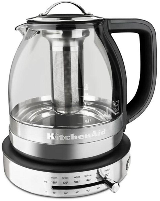 KitchenAid® 1.5 L Stainless Steel Electric Kettle-KEK1322SS