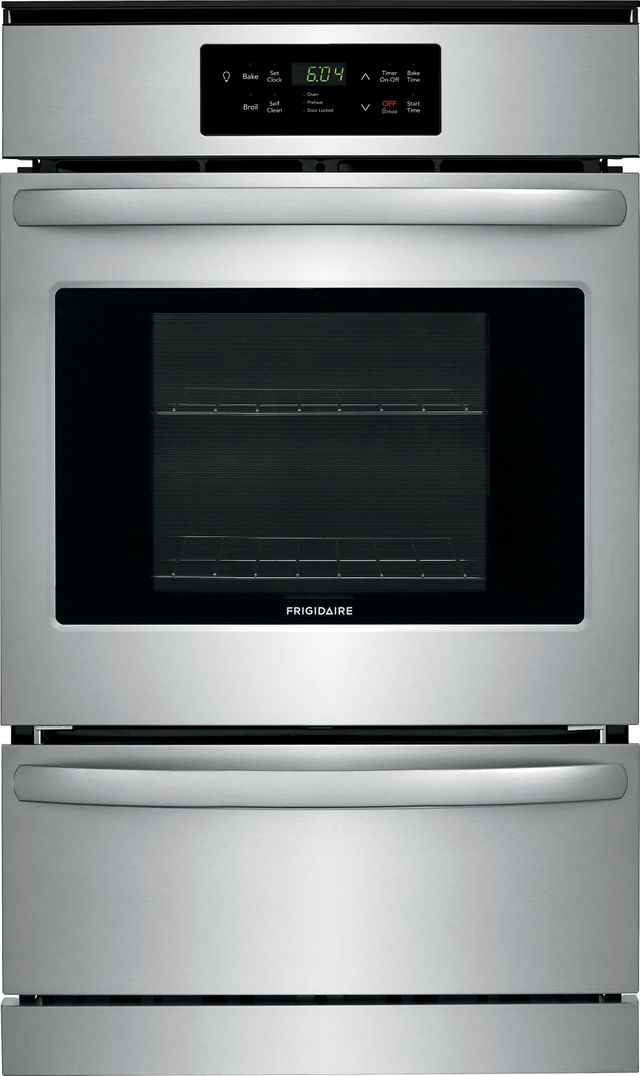 """Frigidaire® 23.88"""" Stainless Steel Single Gas Wall Oven-FFGW2426US"""
