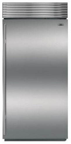 Sub-Zero 23.5 Cu. Ft. Built-In Refrigerator-Stainless Steel-BI36RS