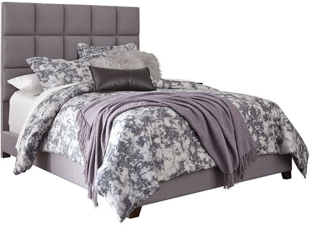 Signature Design by Ashley® Dolante Gray Queen Upholstered Bed-B130-381