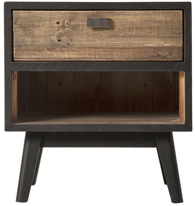 Table de nuit Nova, noir, Moe's Home Collections®-FR-1002-02