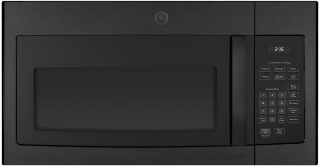GE® Over The Range Microwave Oven-Black-JVM3160DFBB