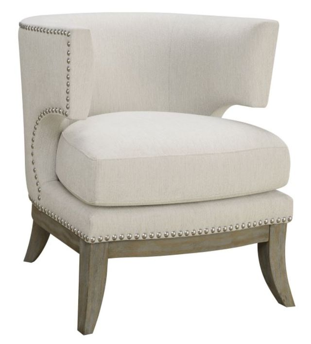 Coaster® White Accent Seating Chair-902559