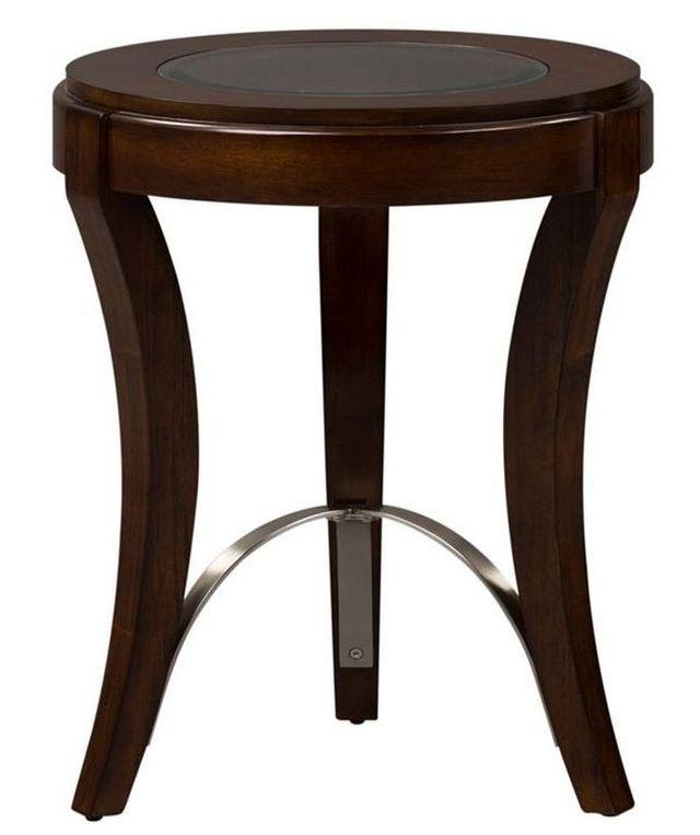 Liberty Furniture Avalon Dark Truffle Chair Side Table-505-OT2021