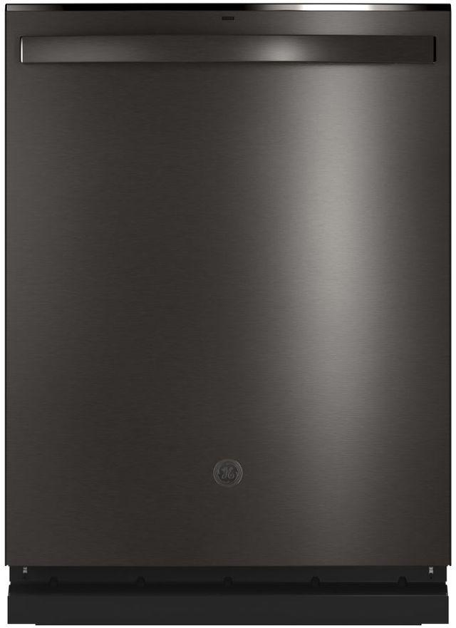 "GE® 24"" Black Stainless Built In Dishwasher-GDT665SBNTS"