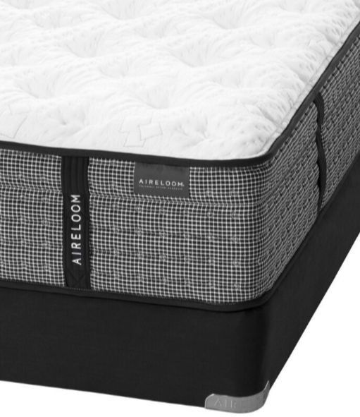 Aireloom® Halfmoon Semi Flex Micro Coil 2 Luxetop Plush Twin Mattress-9292455
