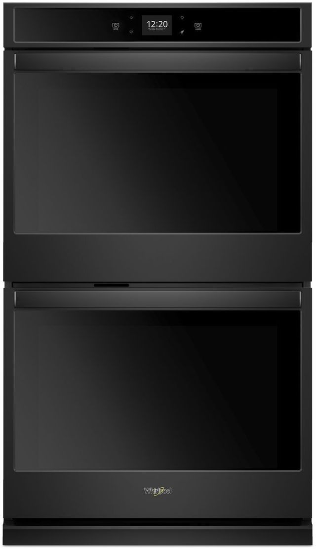 """Whirlpool® 27"""" Electric Double Oven Built In-Black-WOD51EC7HB"""