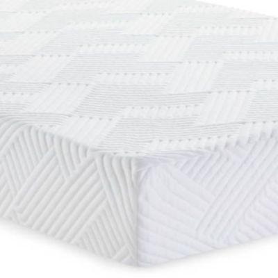 "Malouf® Sleep Wellsville Twin 14"" Plush Gel Foam Mattress-WE14TT45GB"