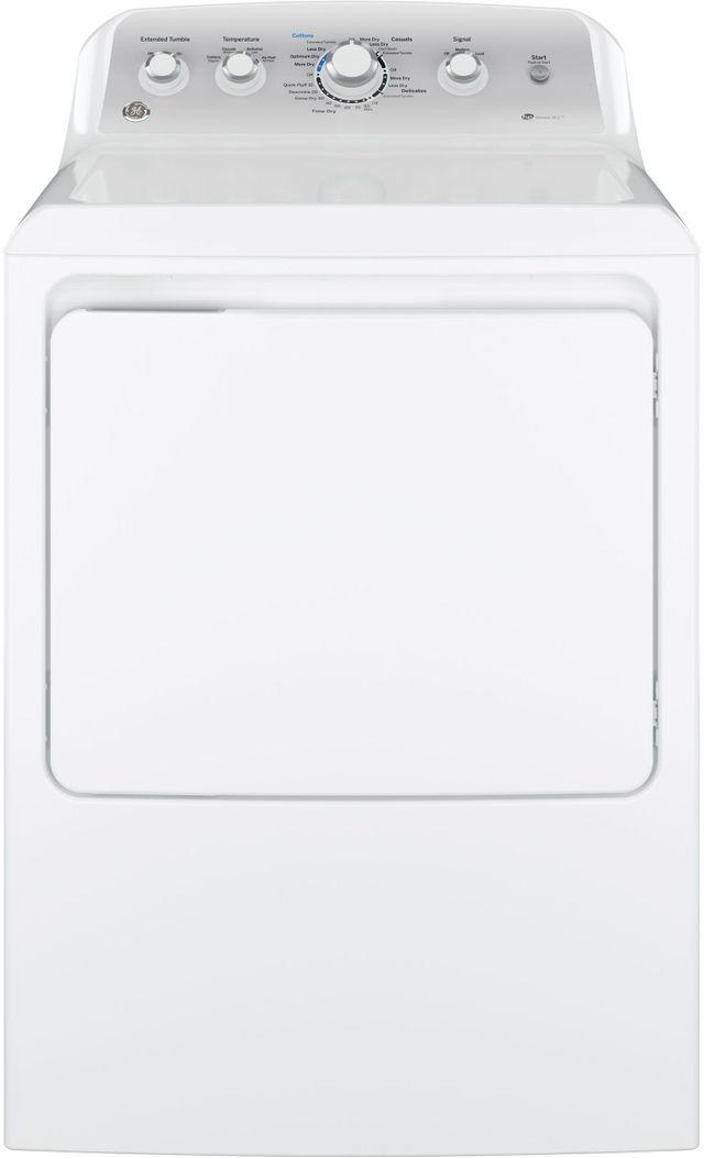 GE® Front Load Gas Dryer-White-GTD45GASJWS