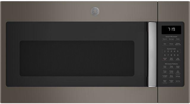 """GE® Series 30"""" Over The Range Microwave-Slate-JVM7195EKES"""