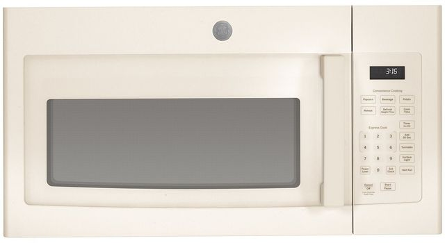 GE® Over The Range Microwave Oven-Bisque-JVM3160DFCC