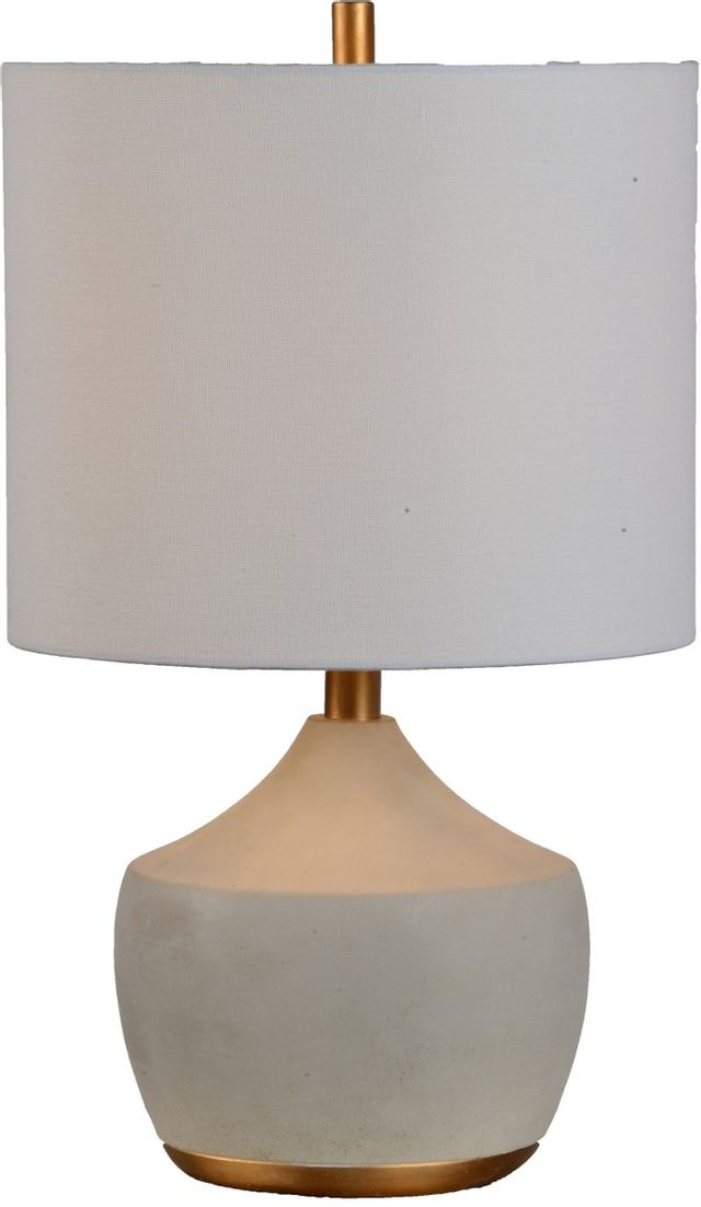 Renwil® Horme Gray/Gold Table Lamp-LPT958