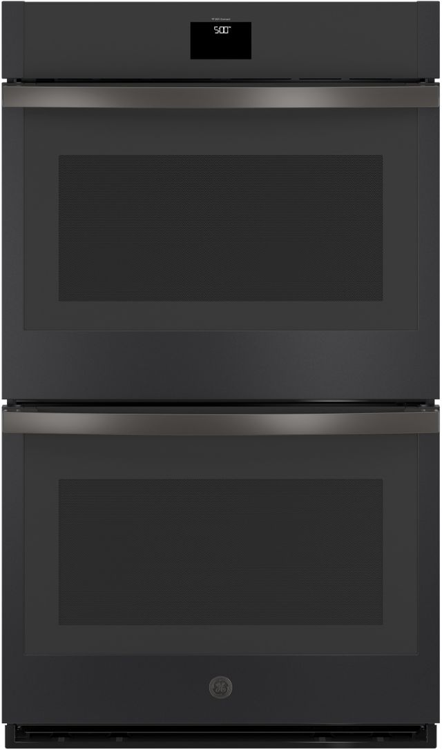 """GE® 30"""" Black Slate Electric Double Oven Built In-JTD5000FNDS"""