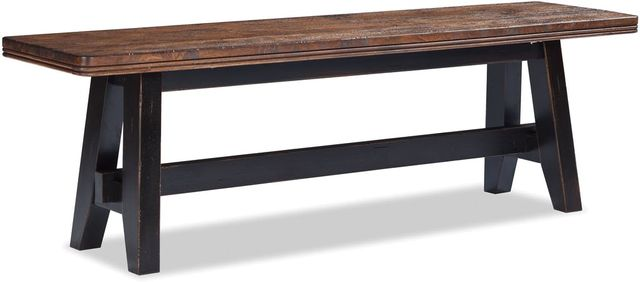 Intercon Winchester Two-Tone Backless Bench-WN-CH-5615B-BHN-RTA