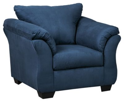 Signature Design by Ashley® Darcy Blue Chair-7500720