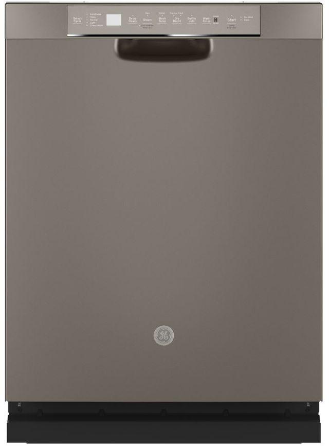 """GE® 24"""" Slate Built In Dishwasher-GDF645SMNES"""