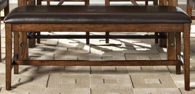 Intercon Santa Clara Brown Backless Bench-ST-CH-5016B-BDY-RTA