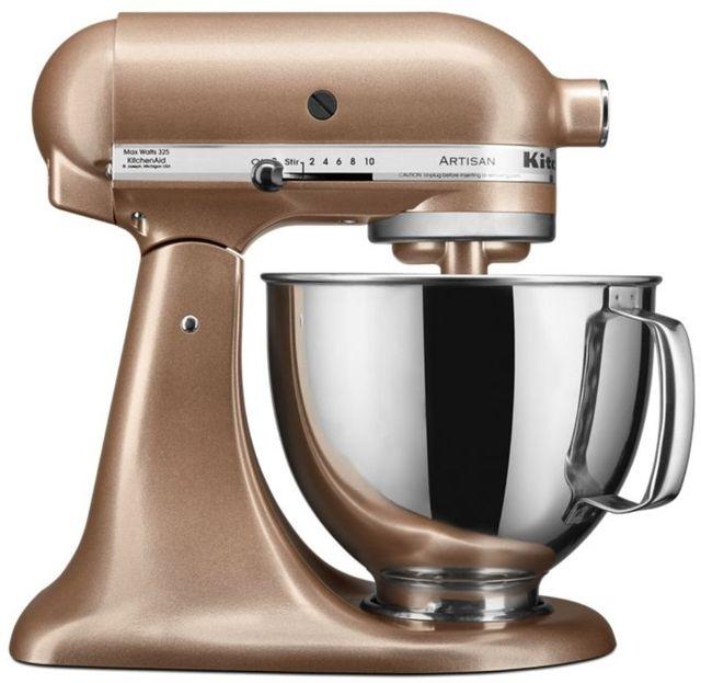 KitchenAid® Artisan® Series 5 Quart Toffee Delight Stand Mixer-KSM150PSTZ