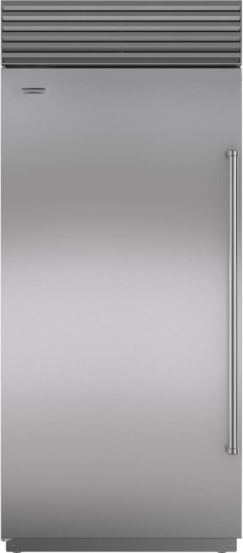 Sub-Zero® 23.5 Cu. Ft. Stainless Steel Built In Refrigerator-BI-36R/S/TH-LH
