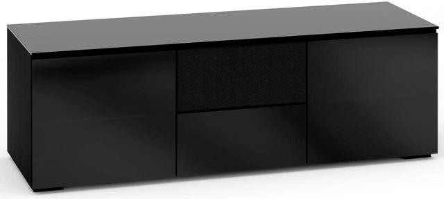 Salamander Designs® Oslo 236 AV Cabinet-Black Glass-C/OS236/BG