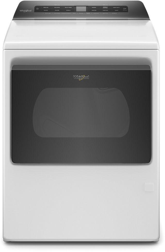 Whirlpool® 7.4 Cu. Ft. White Front Load Gas Dryer-WGD5100HW