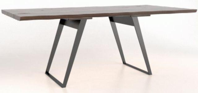 Table à plateau rectangulaire, brun, Canadel®-TRE0418419NAEEQLF